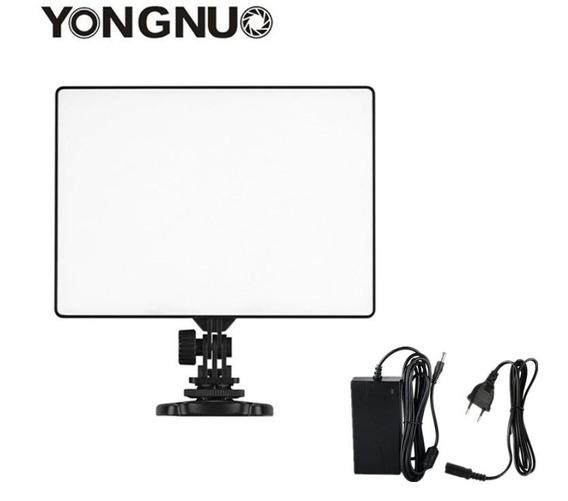 Iluminador Yongnuo Led Yn300 Air Ultra Fino Com Fonte