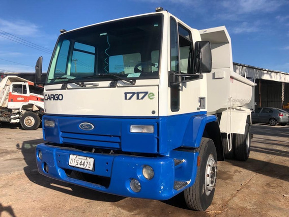 Ford Cargo 1717 Ano 2007 Toco Basculante 5 M³ (163 Mil Km)