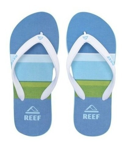 Chinelo Switchfoot Marcos White Ultra Resistente Reef