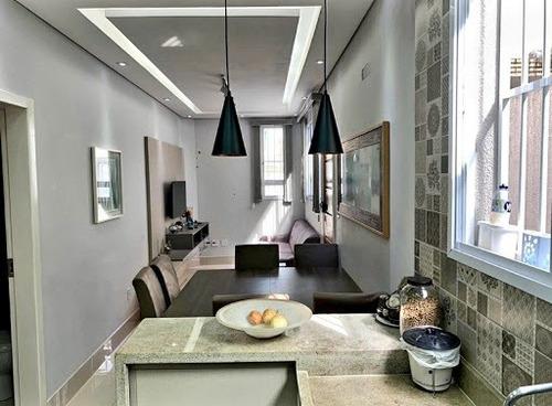Imagem 1 de 18 de Casa Com 2 Dormitórios À Venda, 80 M² Por R$ 610.000,00 - Embaré - Santos/sp - Ca1238