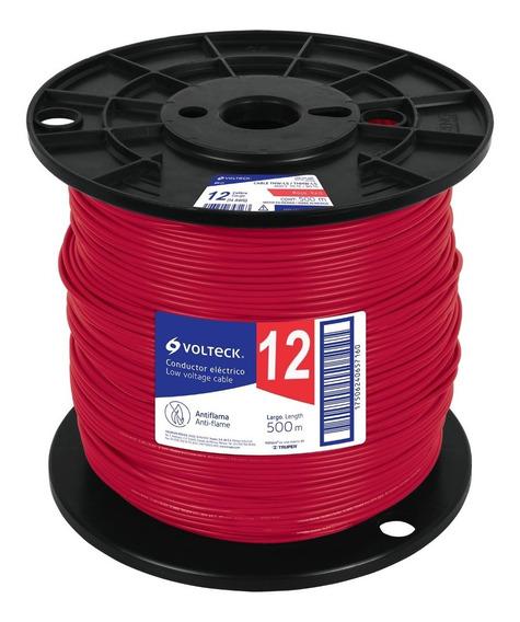 Cable Thhw-ls, 12 Awg, Rojo, Bobina 500 M Cab-12r-500 40125