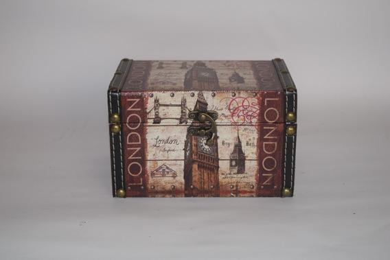 Caja Organizadora London, Vintage, Retro.
