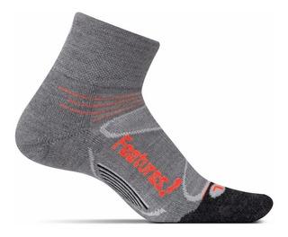 Pack X3 Medias Feetures Merino + Cushion Quarter Running
