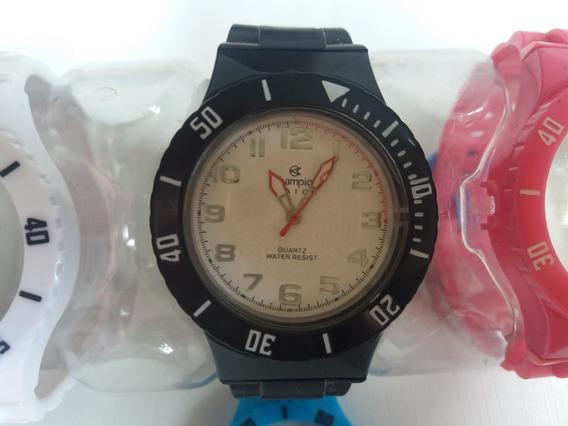 Relógio Champion Troca Pulseira Unissex 5 Pulseiras Origin
