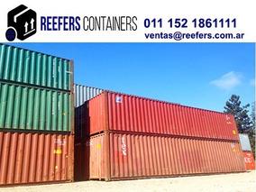 Contenedores Marítimos Containers Usado 20 Y 40 Pies Mendoza
