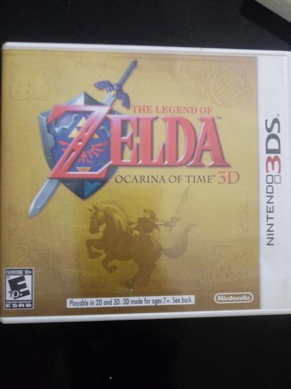 Jogo The Legend Of Zelda Ocarina Of Time 3ds Usa, Mídia Físi
