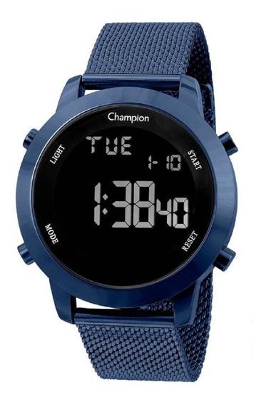 Relogio Digital Ch40062a Champion Azul