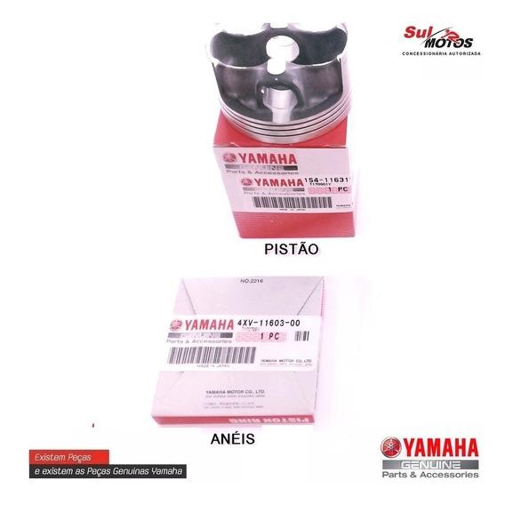 Pistao + Anéis (std) Fazer 250 Lander Ténéré Original Yamaha