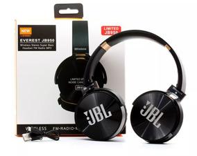 Fone Bluetooth Jbl Jb950 Everest Super Bass Mp3 Rádio Sd