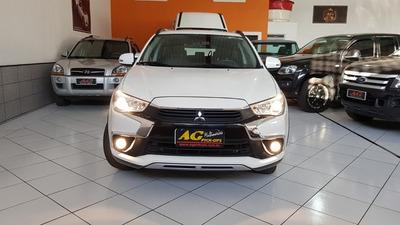 Mitsubishi Asx 4x4 Automatica Cvt 2017/2018 Apenas 44.500kms