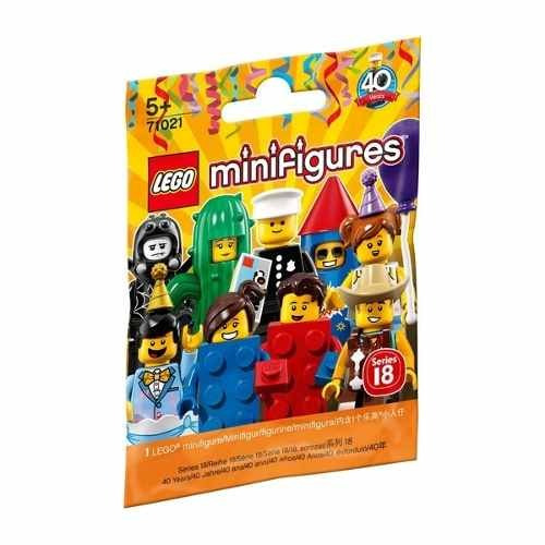 4x LEGO® Flammen rot 18396pb01 red flames