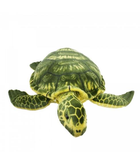 Tartaruga Marinha Verde 74 Cm Super Realista Enfeite Pelúcia