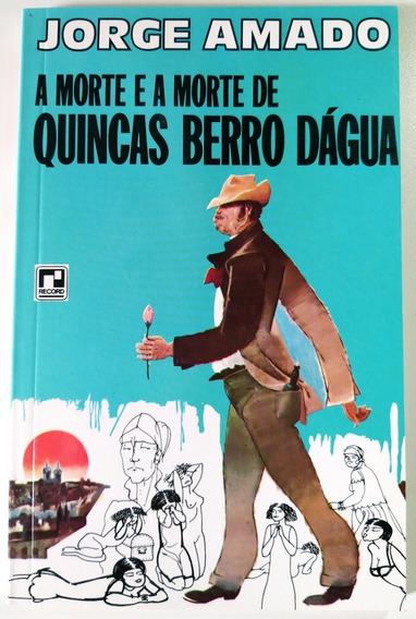 Livro A Morte E A Morte De Quincas Berro Dágua - Jorge Amado
