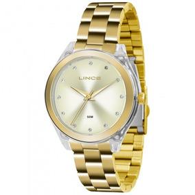 Relógio Lince Lrg4431p C1kx Urban Feminino Champag- Refinado