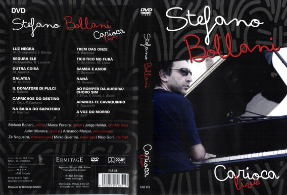Stefano Bollani - Carioca Live (dvd) Lacrado Novo !
