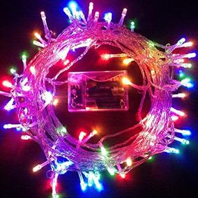 463be300f5f Guirnalda Luces Navidad Led 100 Led Multicolor Oferta. 19 vendidos -  Capital Federal · Guirnalda Decorativa Tipo Arroz A Pila 80 Led 10 Mts X 10  U.