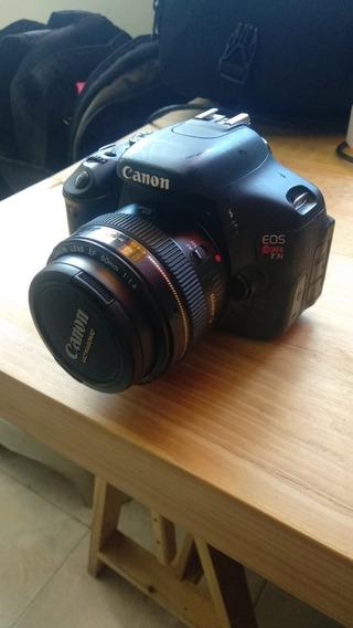 Cámara Fotográfica Semi Profesional Canon T3i