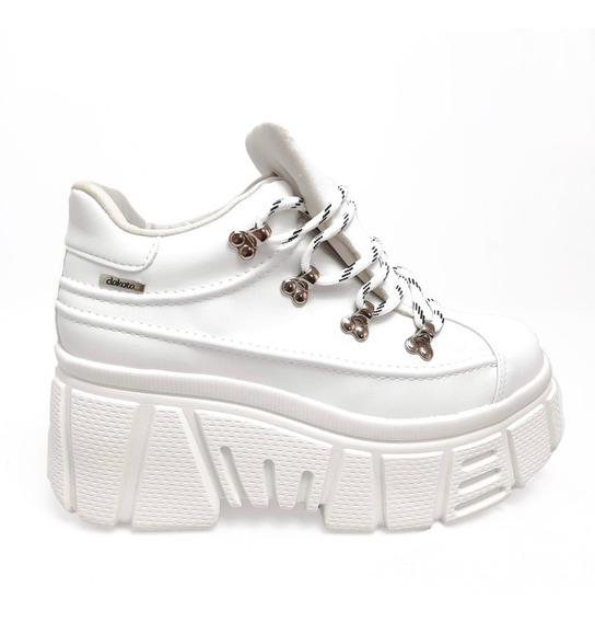 Dad Sneaker Dakota Flatform Branco G2511 Tênis Feminino