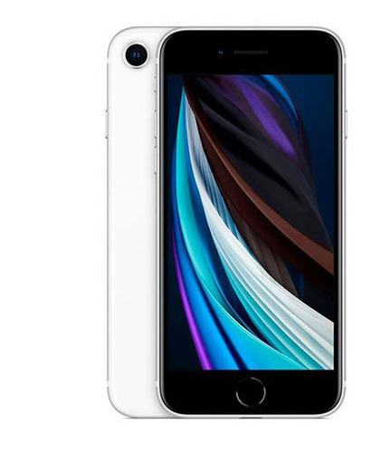 iPhone SE Branco 4,7 , 4g, 256 Gb E Câmera 12 Mp - Mxvu2bz/a