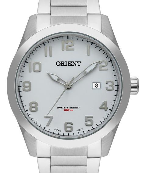 Relógio Orient Masculino Prata Mbss1360 B2sx