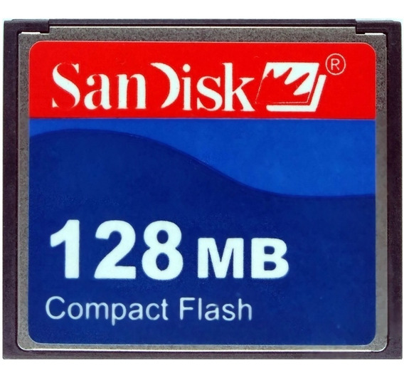 Cf Cartão Compact Flash Sandisk 128mb 15mb/s Fanuc Romi