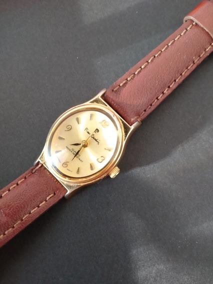 Elegante Relógio Pierre Cardin Dourado - Quartz