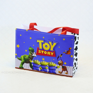 Sacolinha Tema Toy Story