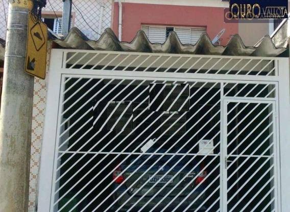 Sobrado Com 2 Dormitórios Para Alugar, 105 M² Por R$ 1.900/mês - Mooca So 190810 G - So0610