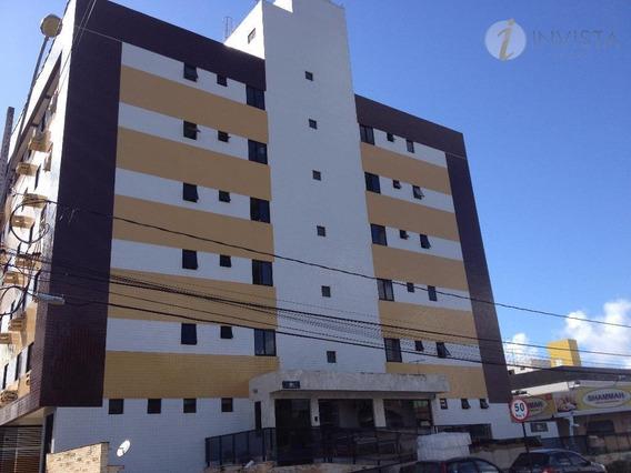 Apartamento Com 2 Dormitórios Para Alugar, 53 M² Por R$ 1.100,00/ano - Jardim Oceania - João Pessoa/pb - Ap4452