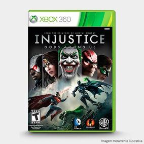 Injustice Gods Among Us Original Lacrado P/ Xbox 360