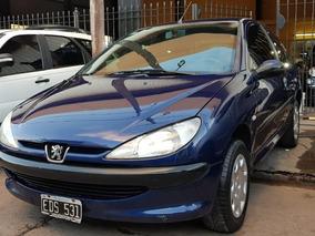 Peugeot 206 2003 Xrd Premium 1.9 Diesel 3puertas Color Azul