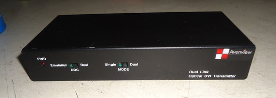 Avenview Dual Link Dvi Extender Over Fiber Fo-dvi-dl-330