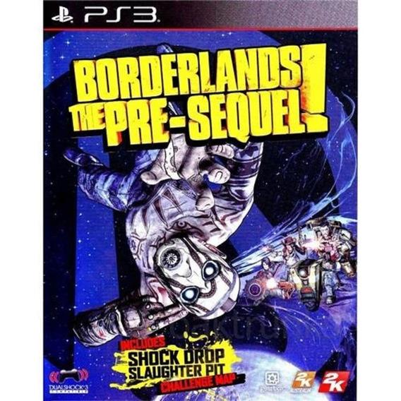 Borderlands The Pre-sequel Ps3 Jogo Original Novo E Lacrado