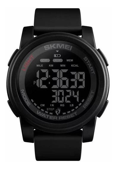 Relógio Masculino Digital Esportivo Pedômetro Skmei 1469