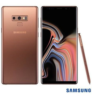 Samsung Galaxy Note9 Cobre, Com Tela De 6,4, 8g, 512 Gb E C