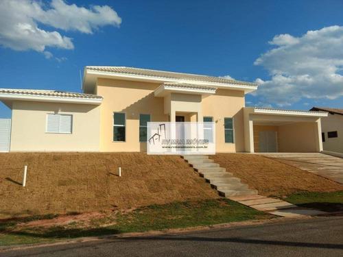 Casa Com 3 Dormitórios À Venda, 225 M² Por R$ 1.000.000,00 - Condomínio Village Ipanema - Araçoiaba Da Serra/sp - Ca1878