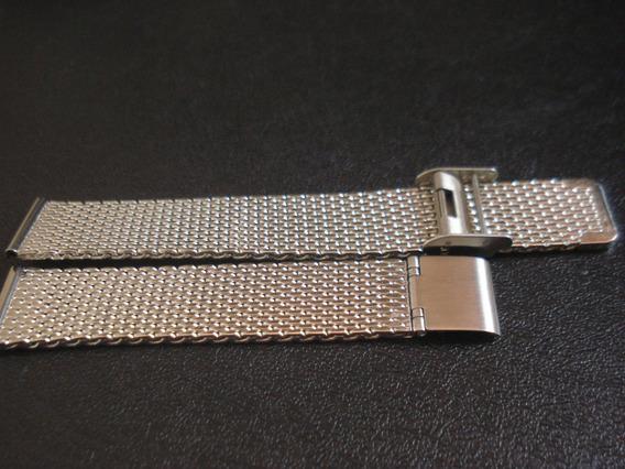 Pulseira Esteira 18 Mm Relógio Aço Reforçada