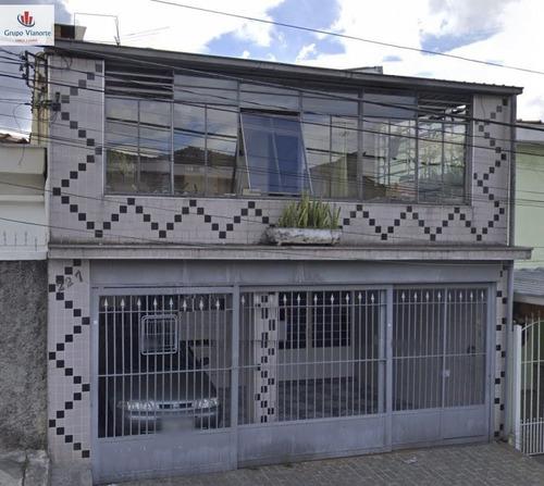 Casa A Venda No Bairro Vila Ede Em São Paulo - Sp.  - Jv1000-1