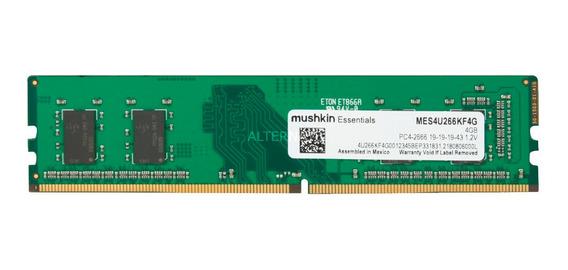 Memoria Ram Pc Mushkin Essentials Ddr4 4gb 2666mhz