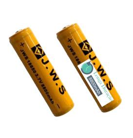 2 X Bateria 18650 8800mah 3,7v Recarregável P/ Lanterna Led