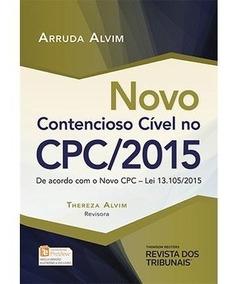 Novo Contencioso Civil No Cpc/2015