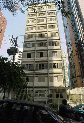 Studio Com 1 Dormitório Para Alugar, 40 M² Por R$ 1.750/mês - Jardim Paulista - São Paulo/sp - St0048