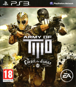 Army Of Two Devils Cartel Ps3 - Midia Digital