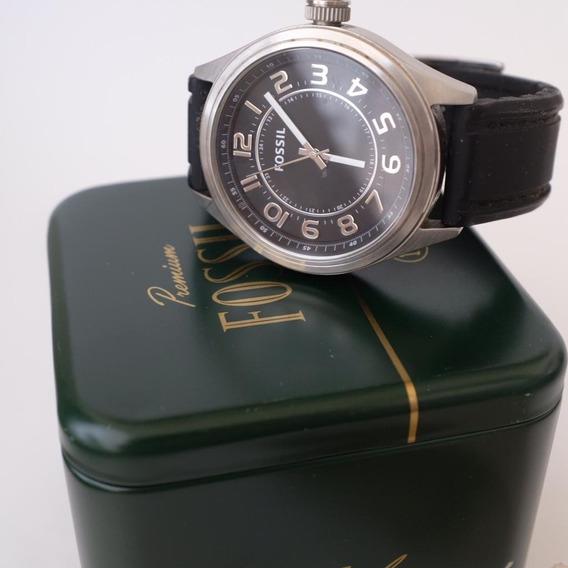 Relógio De Pulso Masculino Fossil Original Bq1045