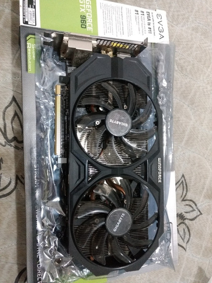 Placa De Vídeo Gtx 760 2gb, Gigabyte 256bits Ddr5
