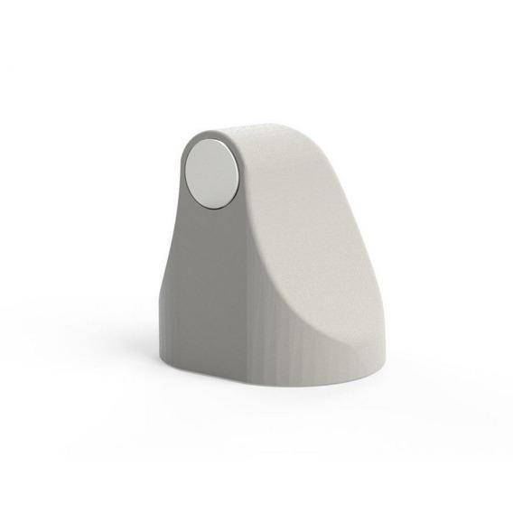 Trava Porta Magnético Universal Adesivo Branco Comfortdoor