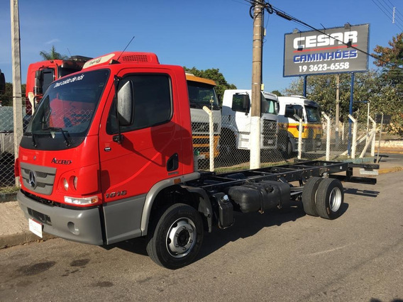 Mb 1016 2014 Vermelha Chassis