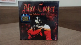 Alice Cooper Broadcast Collection 1971 - 1995 Box Com 8 Cds