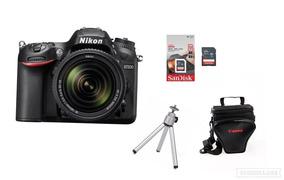 Câmera Nikon D7200 18-140mm+ Bolsa+tripé+32gb