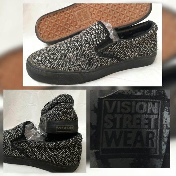 Tenis Vision Street Wear Slip On Old School Skate Raro